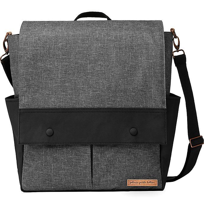 Alternate image 1 for Petunia Pickle Bottom® Pathway Pack Diaper Bag in Graphite/Black