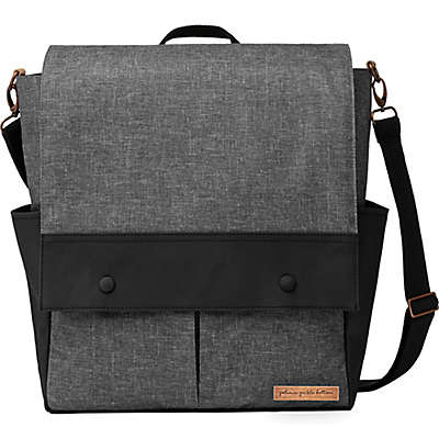 Petunia Pickle Bottom® Pathway Pack Diaper Bag in Graphite/Black