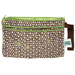 Planet Wise™ Wet/Dry Clutch in Lime Cocoa Bean