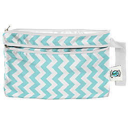 Planet Wise™ Wet/Dry Clutch in Teal Chevron