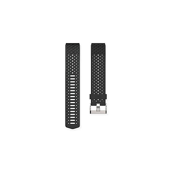 Fitbit® Charge 2™ Sport Band in Black   Bed Bath & Beyond