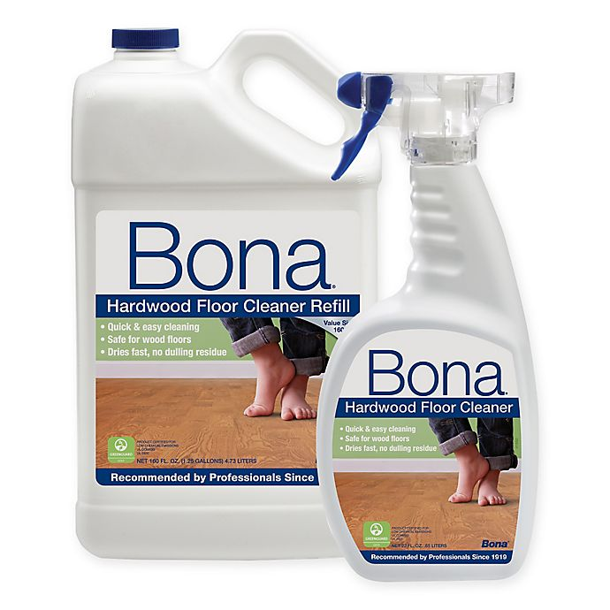 Bona 160 Oz Hardwood Floor Cleaner Refill With 22 Bonus Spray Bottle