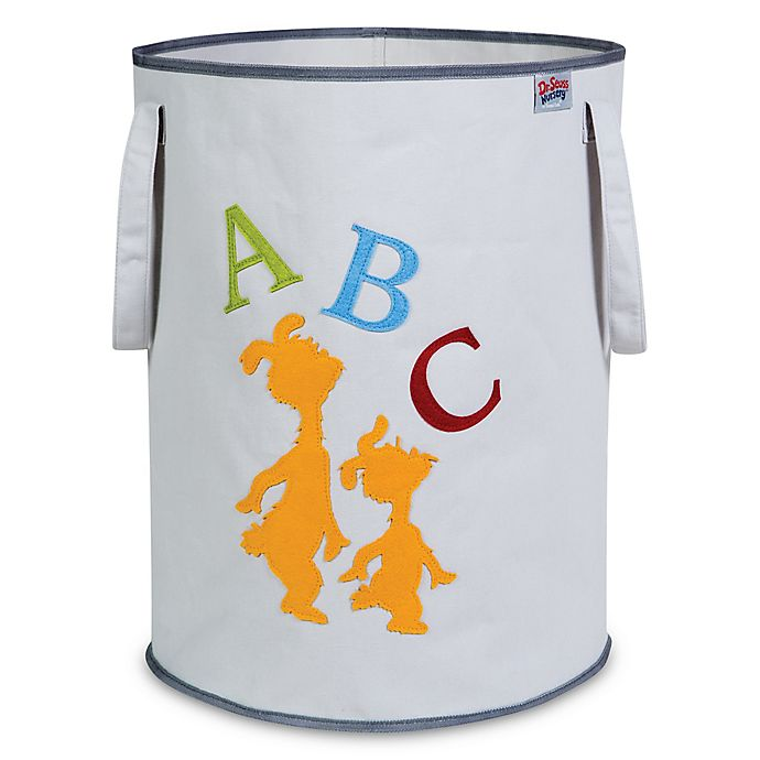 Alternate image 1 for Trend Lab® Dr. Seuss™ ABC Canvas Storage Tote