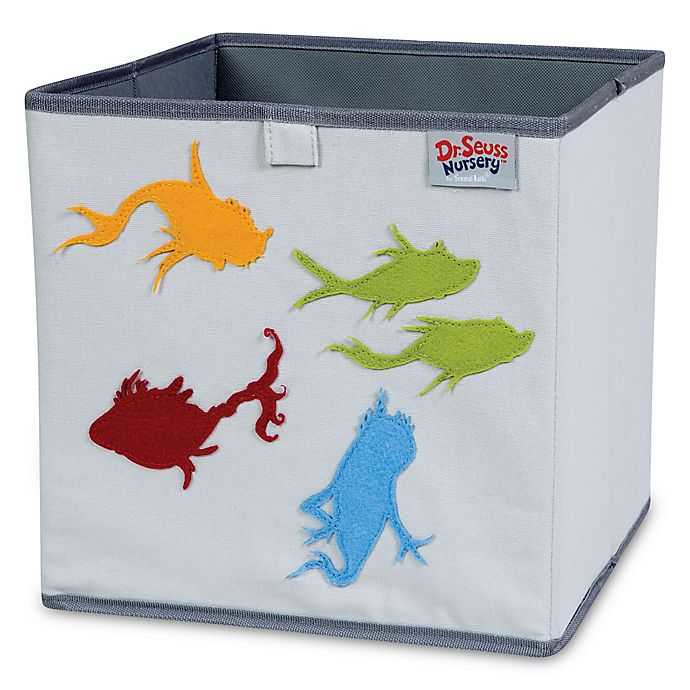Alternate image 1 for Trend Lab® Dr. Seuss™ One Fish, Two Fish Storage Bin