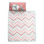 Lambs & Ivy® Little Spirit Nap Mat in Coral/Teal