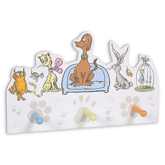 Alternate image 1 for Trend Lab® Dr. Seuss™ What Pet Should I Get 3-Peg Storage Rack