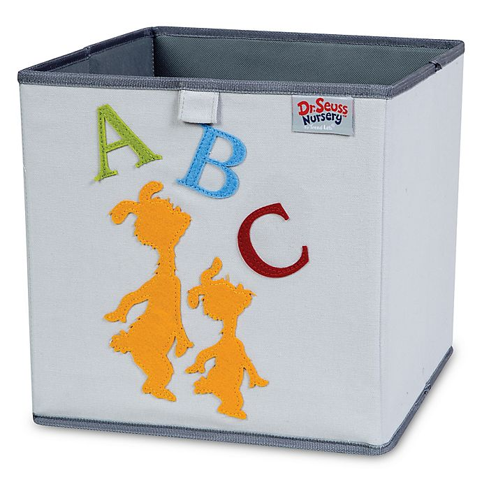 Alternate image 1 for Trend Lab® Dr. Seuss™ ABC Storage Bin