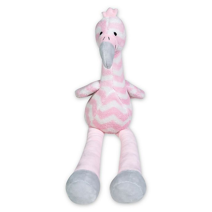 Alternate image 1 for Trend Lab® Flamingo Plush Toy in Pink
