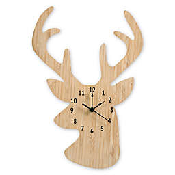 Trend Lab® Stag Head Wall Clock