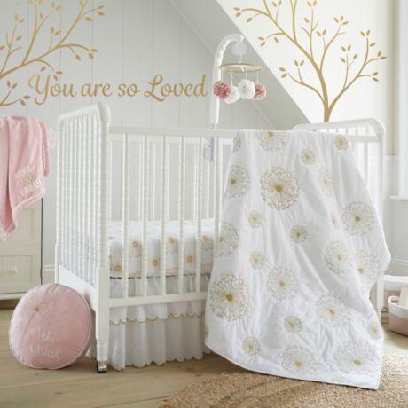 Levtex Baby Dandelion Crib Bedding Collection Bed Bath