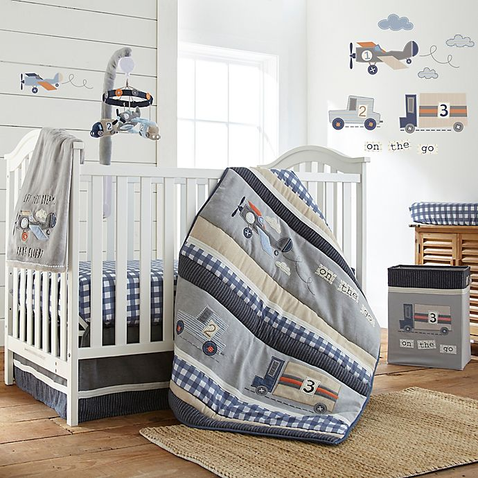 Go Bed And Bath: Levtex® Baby On The Go Crib Bedding Collection