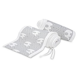 BreathableBaby® Classic Mesh Liner for Solid End Cribs in White