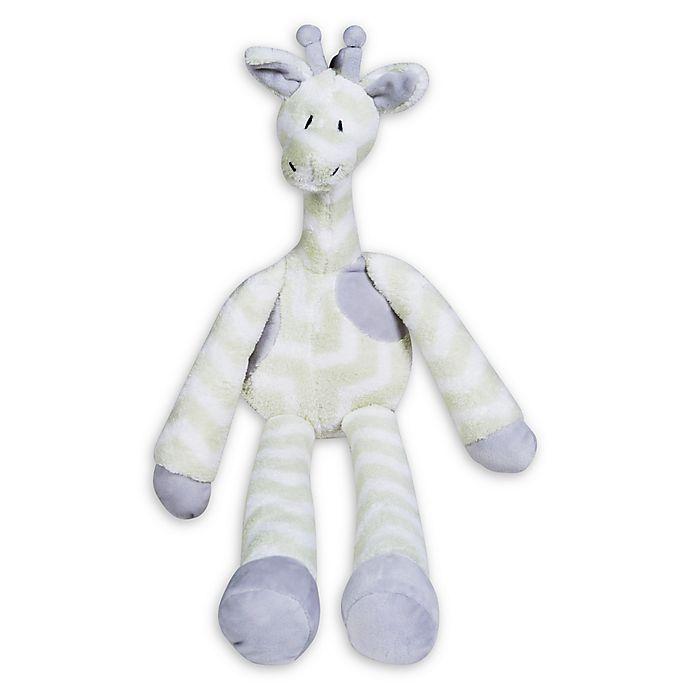 Alternate image 1 for Trend Lab® Giraffe Plush Toy in Green