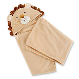 Baby Aspen® Lion Hooded Blanket in Tan
