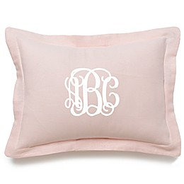 Liz and Roo Oblong Throw Pillow in Pink