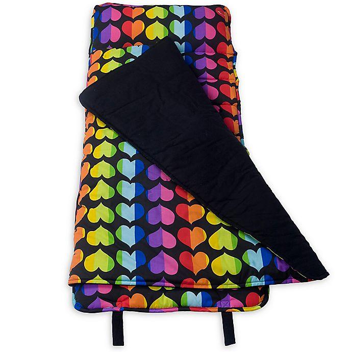 Alternate image 1 for Olive Kids™ Rainbow Hearts Microfiber Nap Mat