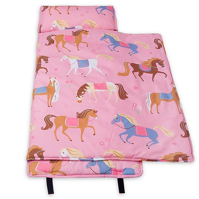 Alternate image 1 for Olive Kids™ Horses Microfiber Nap Mat