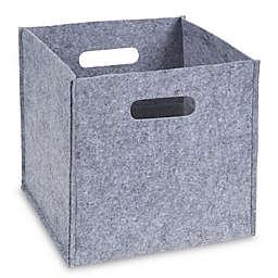 Sammy &  Lou Felt Storage Cube in Grey