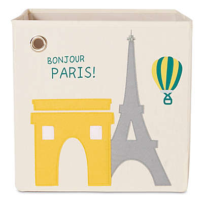 kaikai & ash Paris Kid's Canvas Storage Bin