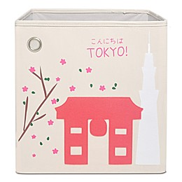 kaikai & ash Tokyo Kid's Canvas Storage Bin