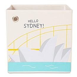 kaikai & ash Sydney Kid's Canvas Storage Bin