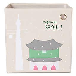 kaikai & ash Seoul Kid's Canvas Storage Bin