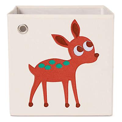 kaikai & ash Deer Kid's Canvas Storage Bin