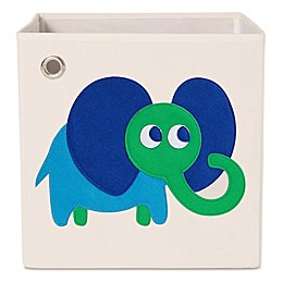 kaikai & ash Elephant Kid's Canvas Storage Bin