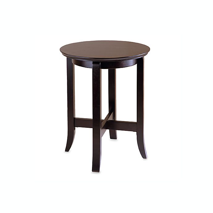 Toby Round End Table Bed Bath Amp Beyond