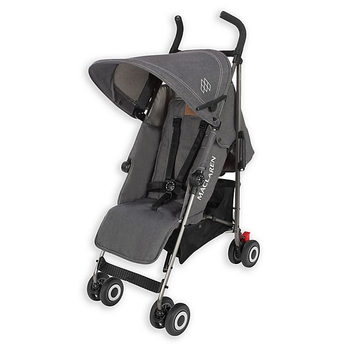 Alternate image 1 for Maclaren 2017 Quest Stroller in Denim/Charcoal