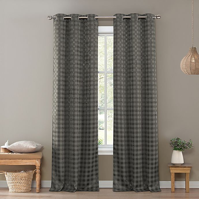 Kelvin Brittany 96 Inch Grommet Top Room Darkening Window