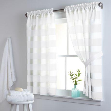 Buy Dkny Highline Stripe 38 Inch X 45 Inch Cotton Window