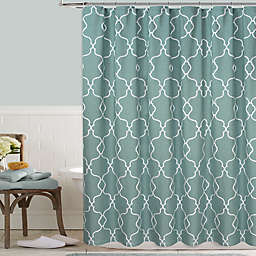 Colordrift Mandy Embroidered Shower Curtain
