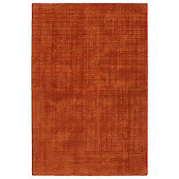Kaleen Lauderdale Indoor/Outdoor Solid 2-Foot x 3-Foot Accent Rug in Rust