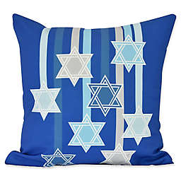 E by Design Shooting Stars Geometric Throw Pillow