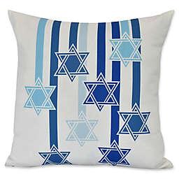 E by Design Shooting Stars Geometric Throw Pillow