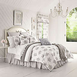 Piper & Wright™ Sabrina Comforter Set in Grey