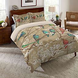 Laural Home Birds and Blossoms Comforter