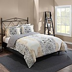 Marble Hill Lacey Reversible Full/Queen Comforter Set in Grey
