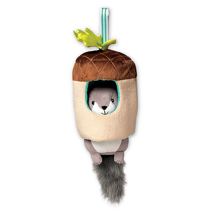 Alternate image 1 for Manhattan Toy® Lullaby Squirrel Musical Pull Toy