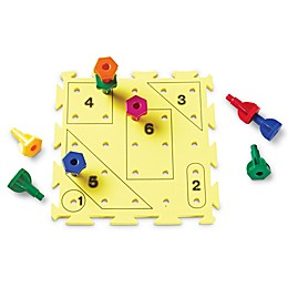 Learning Resources® Rainbow Peg Play Activity