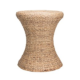 Household Essentials® Wicker Drum  Table in Natural