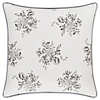 Piper & Wright™ Sabrina Floral Square Throw Pillow in Grey