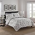 Marble Hill Tanner Reversible Queen Comforter Set in Grey