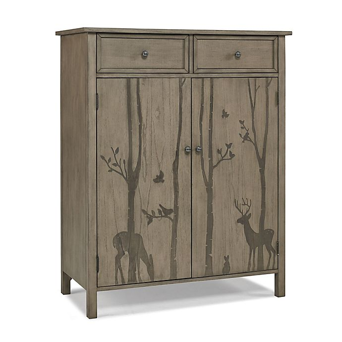 Alternate image 1 for ED Ellen DeGeneres Forest Animal Chifferobe in Natural Grey
