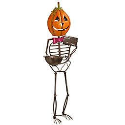 National Tree Company® 53-Inch Metal Pumpkin Man in Orange
