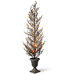 National Tree Company® 46-Inch Halloween Tree with Lights in Black