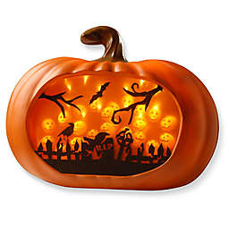 National Tree Company® 18-Inch 3D LED Pumpkin in Orange