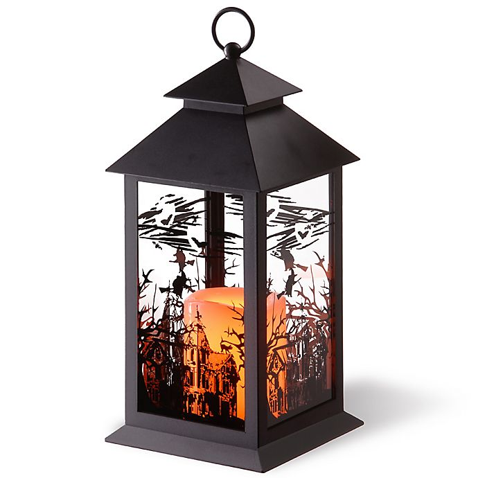 Home Decor Nation: National Tree Company® LED Witch Lantern In Black