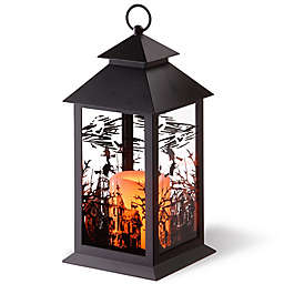 National Tree Company® LED Witch Lantern in Black